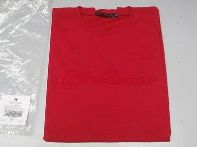 5916531 Alfa Romeo T- Shirt Manches Courtes Taille Xl- Rouge