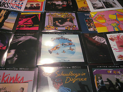 The Kinks Collection Of 27 Titles & 33 Pieces Of Vinyl Many 180 Gram + 5 Cd's