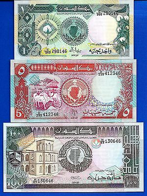 North Africa P-39 P-44b P-45 Uncirculated Set # 4 FREE SHIPPING