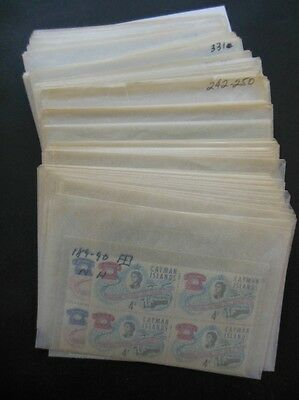 CAYMAN ISLANDS : Clean all VF MNH accumulation with many Better. Catalog $350+
