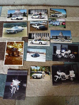 USA POLICE VEHICLE  POLICE PUBLICITY PHOTOS - 14 Brochure connected  jm