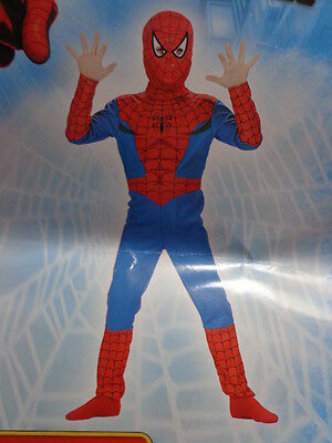 NIP Boys Disguise The Amazing SpidermanRed/Blue Costume Size 4 -6