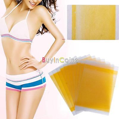 10/20pcs Slim Patches Slimming Fast Loss Weight Burn Fat Belly Trim Patch HKUS