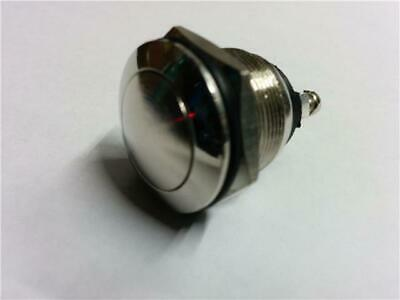 Push Button Switch Classic Vintage - Horn, Engine Start, Turbo Boost 12V Chrome