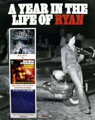 RYAN ADAMS 2006 year in the life promotional poster ~MINT cond~NEW old stock~!!