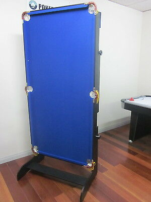 New Model 6Ft Fold Away  Pool  Table  [Blue]