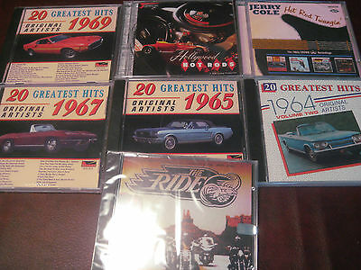 45 Hot Rod Rubber Burnin Instrumentals & 92 Sound Tracks Built For Speed 7 Cdset