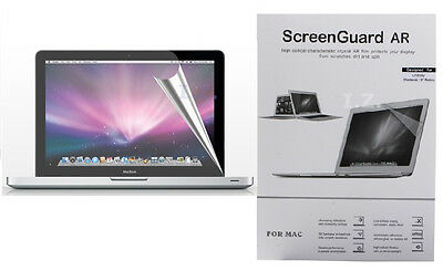 "2 x Clear Screen Protector Guard Skin for MacBook NEW PRO RETINA 15.4"" A1398"