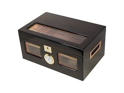 Perfect Ager III 150 Cigar Star Humidor Limited Edtion Ebony
