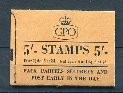 5/- BOOKLET JULY 1955 Cat £125