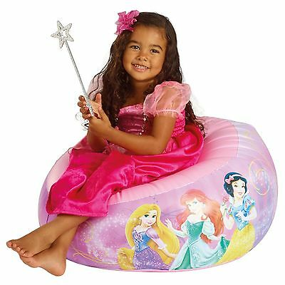 Disney Princess Large Inflatable Chair New Official Kids