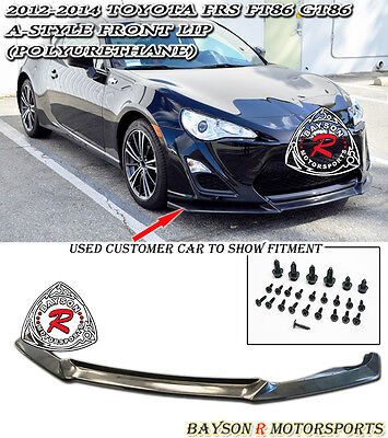 A-Style Front Lip (Urethane) Fits 12-16 Scion FR-S