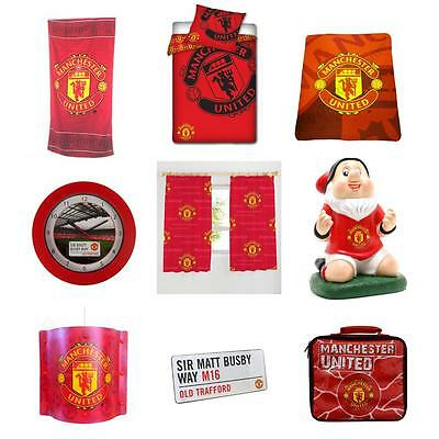 Manchester United Fc Bedroom - Accessories, Bedding, Lighting & More