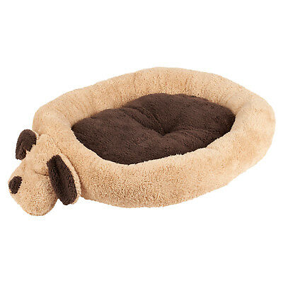 Me & My Luxury Soft/comfy Brown Thick Fleece Dog/puppy/pet Bed Washable Cushion