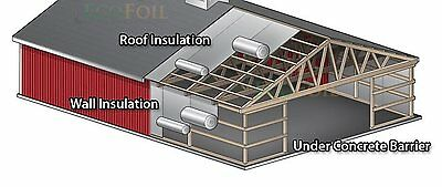 Extra Heavy Duty Thick Silver Foil Air Bubble Cell Insulation  600Sqm~Csiro Test