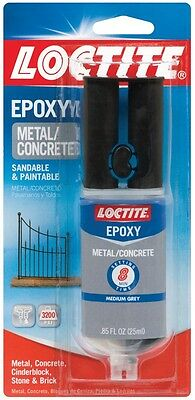 NEW! LOCTITE Metal And Concrete Epoxy 3200 PSI 1919325