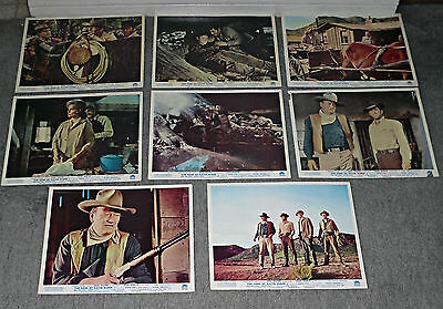 THE SONS OF KATIE ELDER orig rare lobby card still set JOHN WAYNE/DEAN MARTIN