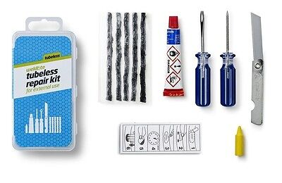 Bike-Cycle-Bicycle Weldtite Tubeless Tyre Outside Puncture Repair Kit