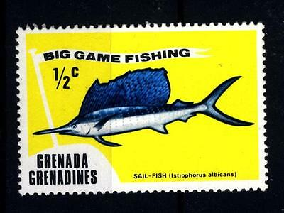GRENADA - GRENADINES - 1975 - Deep Sea Fishing: specie ittiche