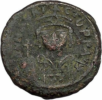 MAURICE TIBERIUS 582AD Constantinople Ancient Medieval Byzantine Coin i41184
