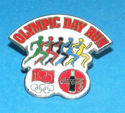 ATLANTA 1996 Olympic Collectible Sponsor Pin - Coca-Cola Olympic Day Run