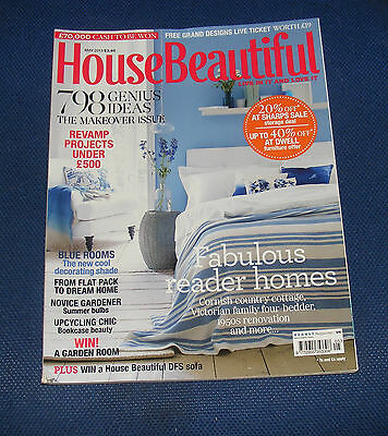 House Beautiful May 2013 - The Makeover Issue/home Revamps Under £500