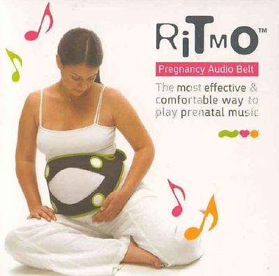 Ritmo Pregnancy Audio Belt Play Prenatal Music & Voices to the Womb NEW