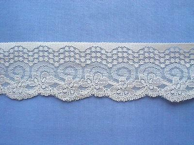 Beautiful  Cream Lace Edging (x 3 metres)