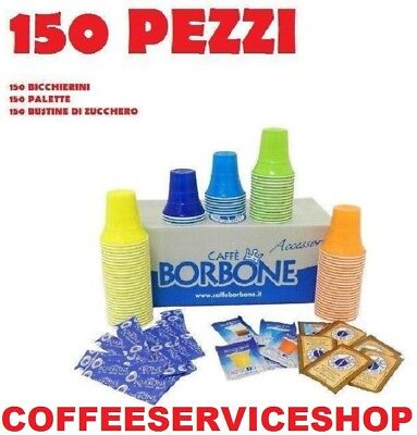 150 Accessori Caffe' Borbone -Originali-