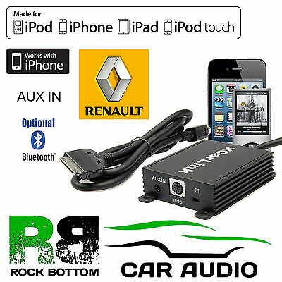 Renault Avantime 2002-2003 Car Radio AUX IN iPod iPhone Bluetooth Interface