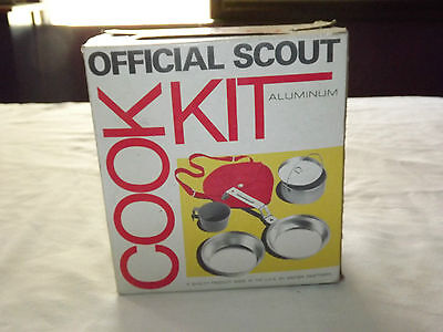 Vintage Bsa Boy Scouts Of America Official Scout Cook Kit In Box  Unused