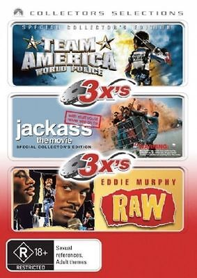 Team America - World Police - Jackass - The Movie - Eddie Murphy - Raw