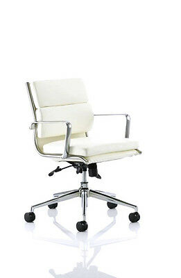 Reproduce Eames Style PU Leather Office Computer Chair AS SEEN IN MOVIES