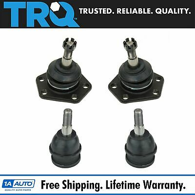 Ball Joints Front Upper & Lower Kit Set of 4 for Chevy GMC Truck Van