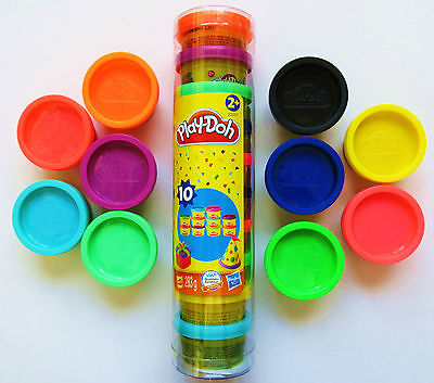 (Gp31,62€/kg)10 Farben Play-Doh Knete je 28,3g Party 2203  originalverpackt