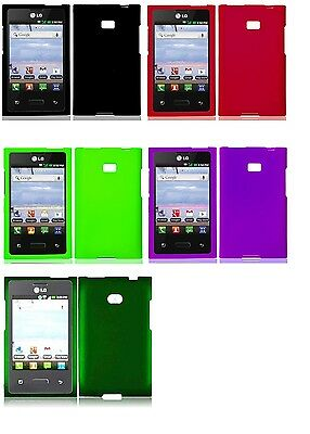 Faceplate Hard Cover Case for Straight Talk LG Optimus Dynamic L38c L38G Phone