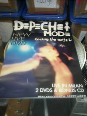 Depeche Mode - Touring the Angel (Promotional Poster)