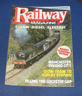 Railway Magazine October 1986 - Slow Train To Kirkby Stephen