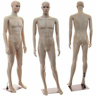 Male mannequin manequin, 6FT tall,+metal stand head rotates, manikin CM1