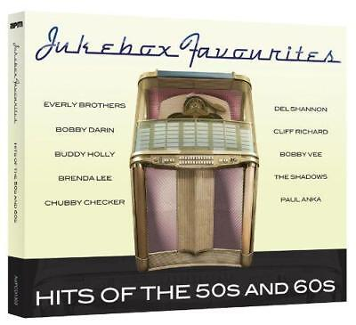 Jukebox Favourites - Hits Of The 50s And 60s - Various Artists (NEW CD)