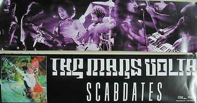 The Mars Volta 2005 *rare* Scabdates Streamer Promo Poster ~Mint Condition~!
