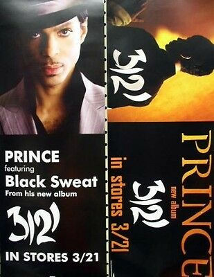 Prince 2006 advance 3121 rare 2 sided promo poster MINT condition NEW old stock