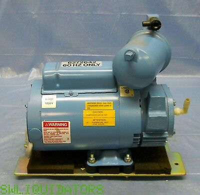 Good working PNEUMOTIVE TA-0040-PX PRESSURE PUMP MAGNETEK 1/3 HP MOTOR K48Y 220V