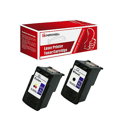 2 Pack Compatible PG 210XL CL 211XL Ink Cartridge For Canon Pixma MP250