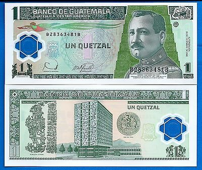 Guatemala P-109 One Quetzal Year 12.20.2006 Uncirculated FREE SHIPPING