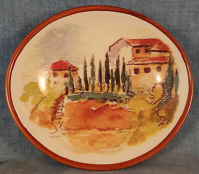 """Williams Sonoma Tuscan Landscape Dipping Bowl 5 1/2"""""""