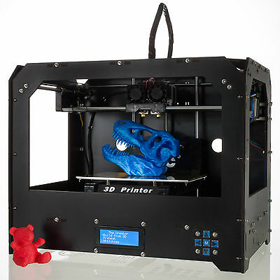 Black 3d Printer for Makerbot Replicator 2 + 1 Roll Free (PLA or ABS) Filament