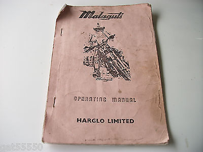 Malaguti Rcx10 Rcx12 Mornini Operating Manual Handbook Instructions Rcx 10 12