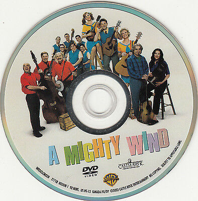 A Mighty Wind (DVD, 2003, Widescreen, no cover)