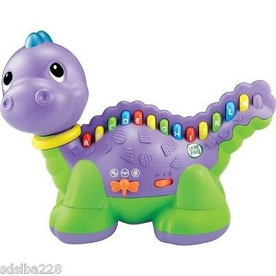 LeapFrog Lettersaurus alphabet dinosaur music color recognition IN BOX